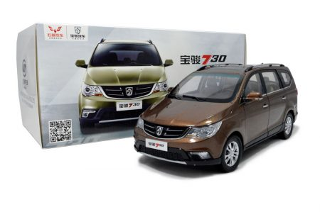 SGMW Baojun 730 MPV 1/18 Scale Diecast Model Car 5