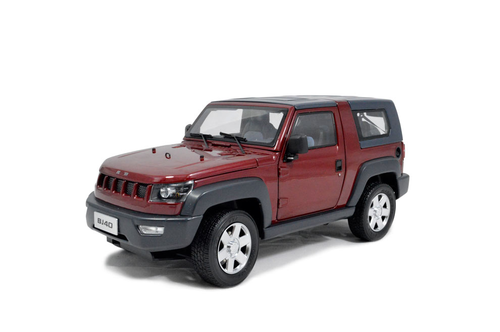 Beijing Jeep Bj40 1 18 Scale Diecast Model Car Paudi Model