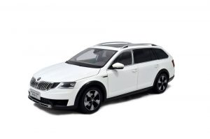SVW Skoda Octavia Combi 2017 1/18 Scale Diecast Model Car 4