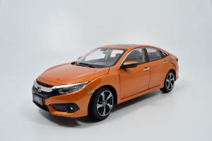 Honda CIVIC 2016(10th generation) 1/18 Scale Diecast Model Car 1