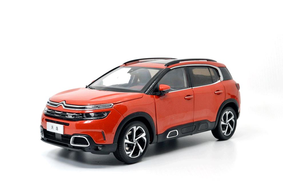 1 18 scale citroen c5 aircross 2018 diecast model car. Black Bedroom Furniture Sets. Home Design Ideas