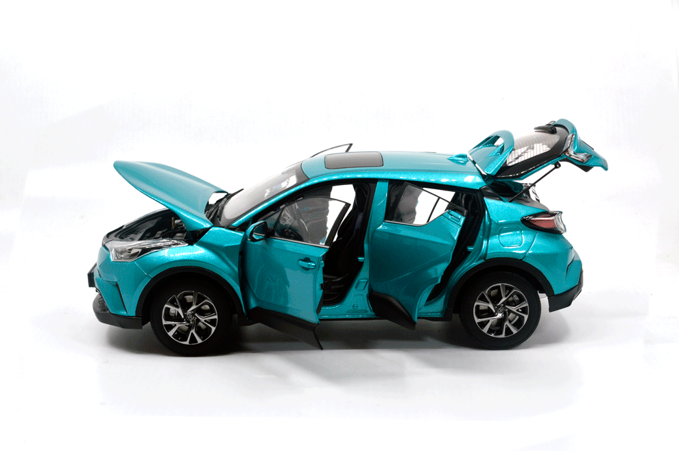 1 18 Scale Toyota Chr 2019 Paudi Model