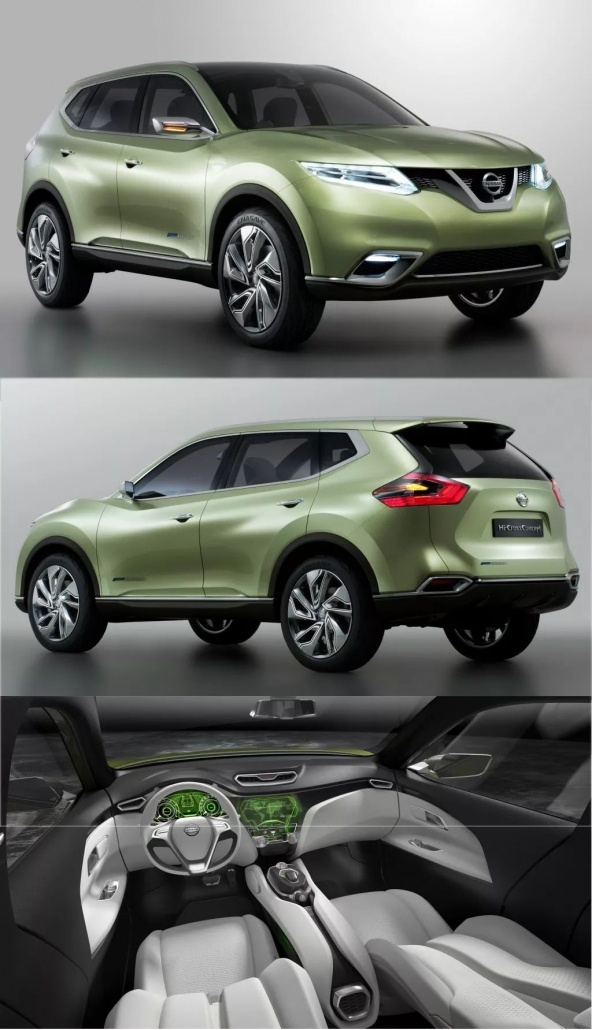 1:18 Scale Nissan X-Trail/ Rogue evaluation 4