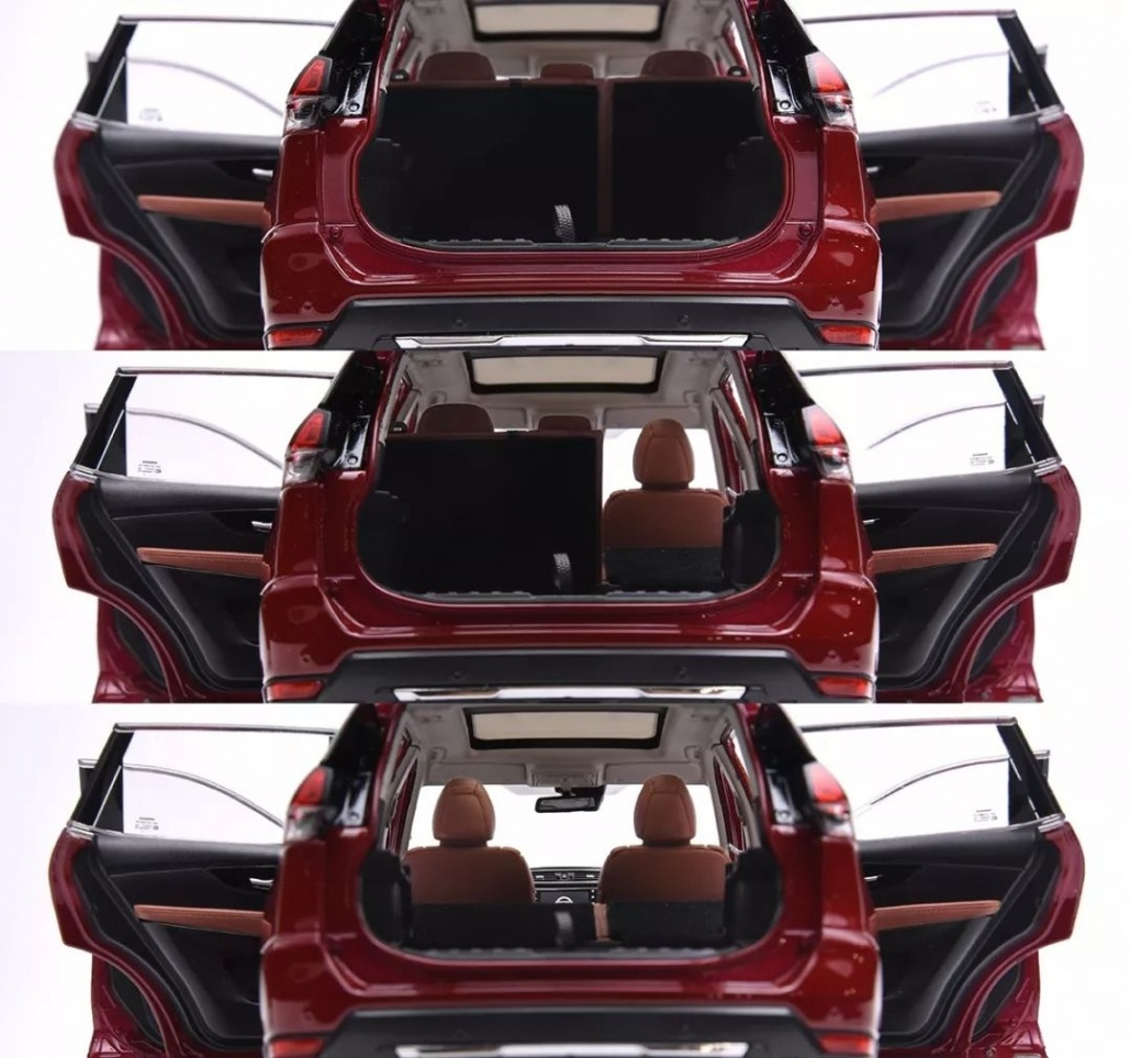 1:18 Scale Nissan X-Trail/ Rogue evaluation 26