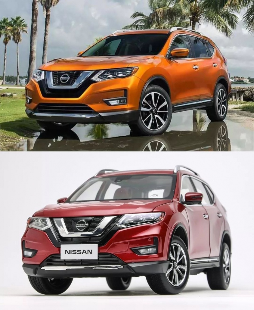 1:18 Scale Nissan X-Trail/ Rogue evaluation 8