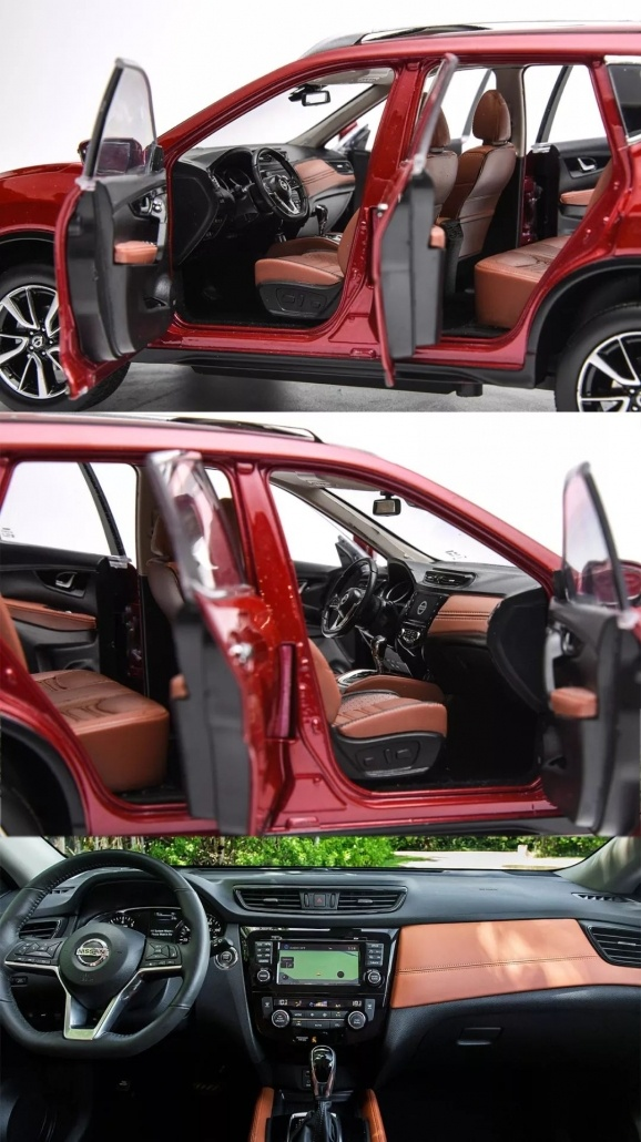 1:18 Scale Nissan X-Trail/ Rogue evaluation 22