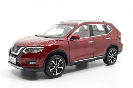 1:18 SCALE NISSAN X-TRAIL 2018 Chinese Version 1
