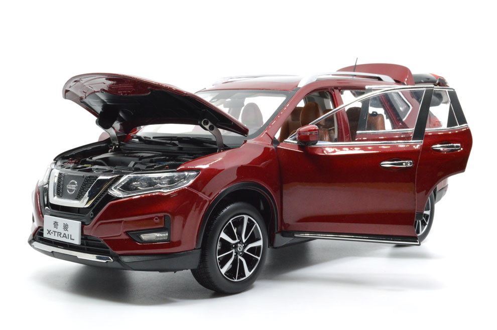 1:18 SCALE NISSAN X-TRAIL 2018 Chinese Version 5