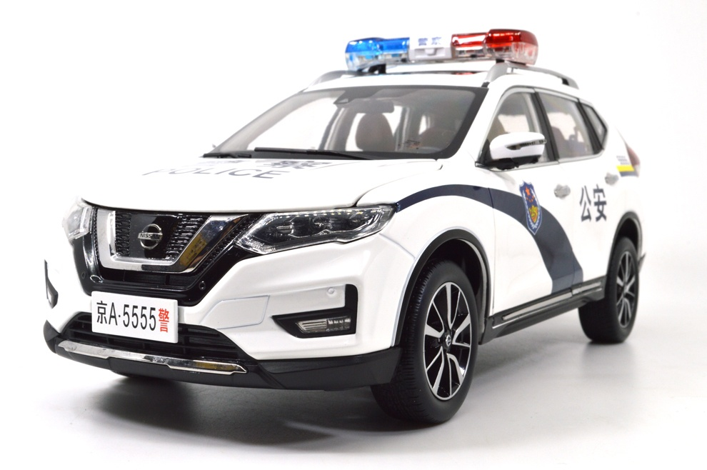 1:18 SCALE NISSAN X-TRAIL 2018 Chinese Version 26