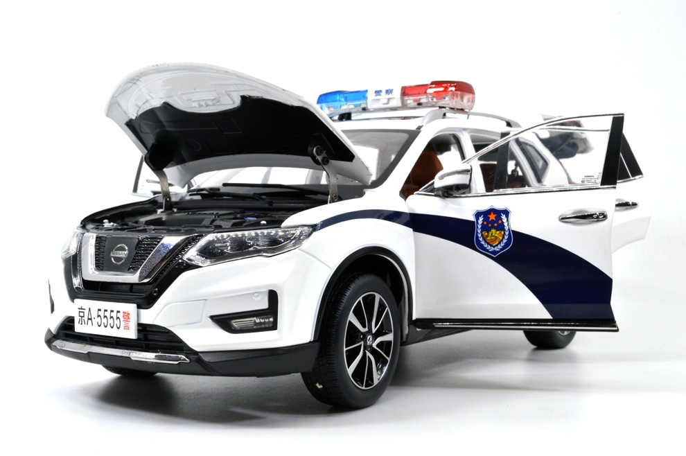 1:18 SCALE NISSAN X-TRAIL 2018 Chinese Version 28