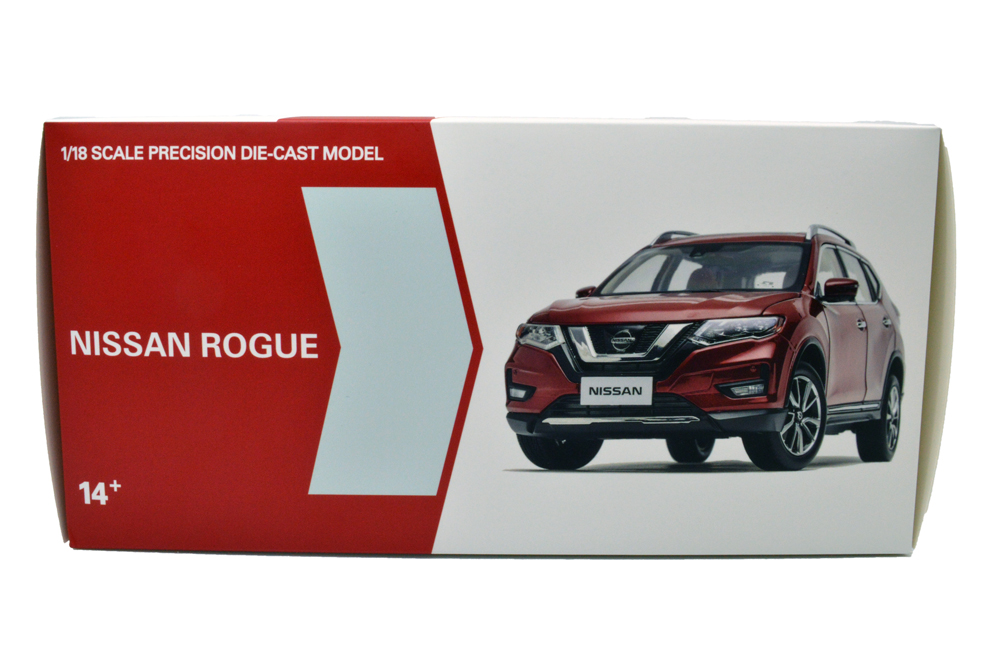 1/18 nissan rogue packing
