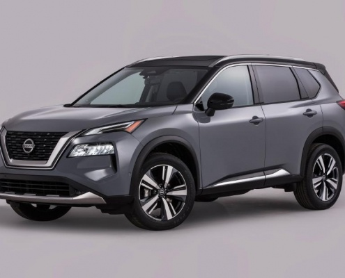 The 2021 Rogue goes on sale at Nissan dealers nationwide in fall 2020. 3