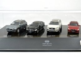 Infiniti 30th Anniversary 1:64 Miniature Set 1