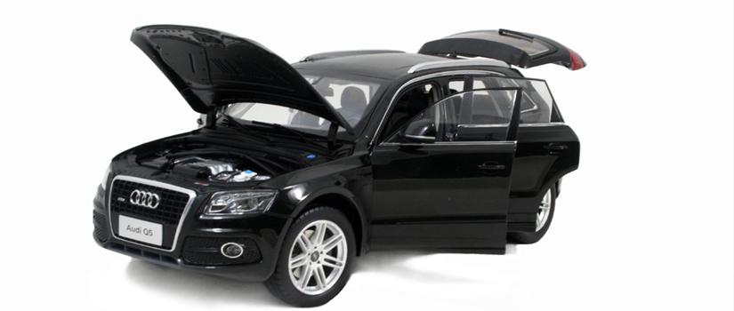 Die-casting model cars